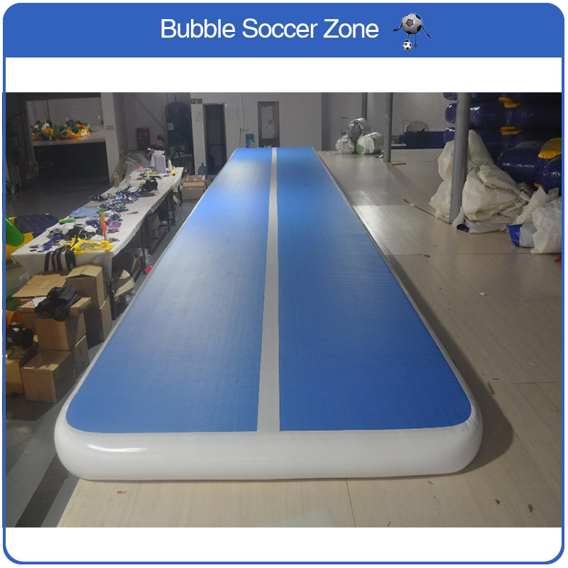 Free Shipping 7x1x0.2m Blue Inflatable Cheap Gymnastics Mattress Gym Tumble Airtrack Floor Tumbling Air Track For Sale hot sale inflatable air tumble track gymnastics for sale