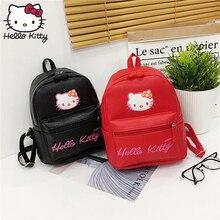 cf73c5206 Hello Kitty Bag Fashion Shoulder Bag Backpacks Kawaii hellokitty Fashion  Women Single PU Shoulder Kids Plush