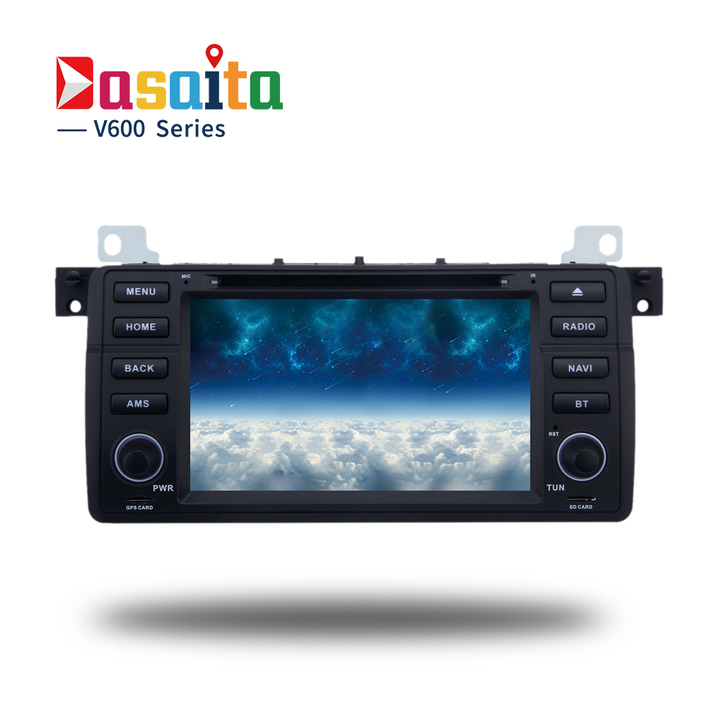 Quad core 2 din android 5 1 1 car dvd gps for bmw e46 m3 318i 320i 325i 328i car radio bluetooth 1gb ram 16gb rom mirror link