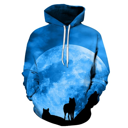 galaxy wolf printed 3d hoodies men brand hoodie hot sale unisex sweathsirts autumn 6xl pullover fashion tracksuits boy jackets Galaxy Wolf Printed 3D Hoodies HTB1qe