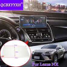 QCBXYYXH For Lexus NX 200 NX200T NX300 Car Styling GPS Navigation Screen Glass Protective Film Central Control Multimedia Film