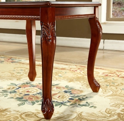Awe Inspiring European Style Solid Wood Coffee Table Square Corner Retro Side Table Modern American Side Coffee Table Small Tables Evergreenethics Interior Chair Design Evergreenethicsorg