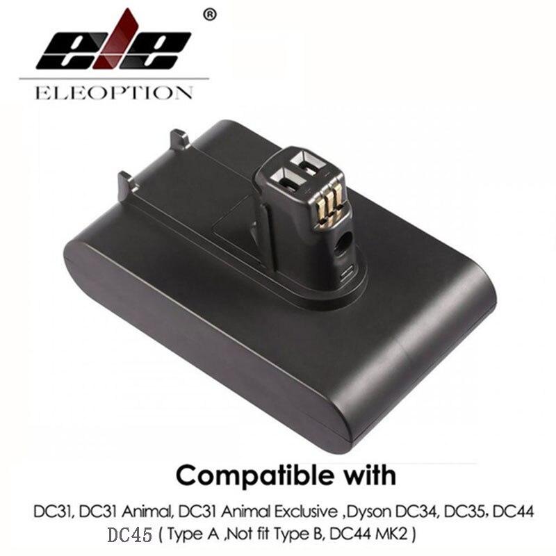 22.2 v 3000 mah Li-Ion Batteria di Vuoto per Dyson DC35, DC45 DC31, DC34, DC44, DC31 Animale, DC35 Animale, 917083-01