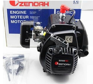 Freeshipping!! Japan imports ZENOAH 2T Engine G290 29CC for HPI 5B LOSI 5T billet rear hub carriers for losi 5ive t