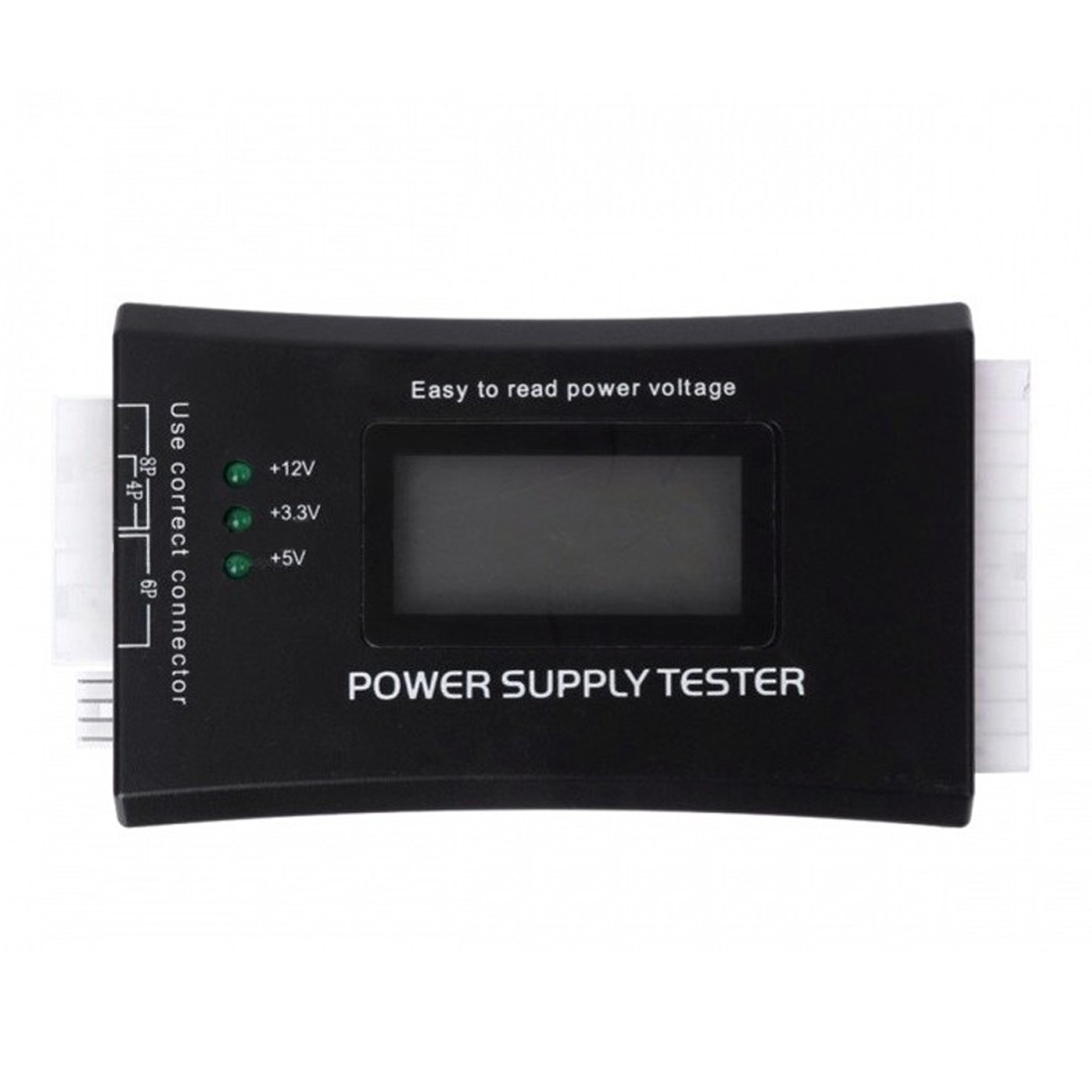 Digital LCD Power Supply Tester Multifunction Computer 20 24 Pin Sata LCD PSU HD ATX BTX Voltage Test SourceDigital LCD Power Supply Tester Multifunction Computer 20 24 Pin Sata LCD PSU HD ATX BTX Voltage Test Source