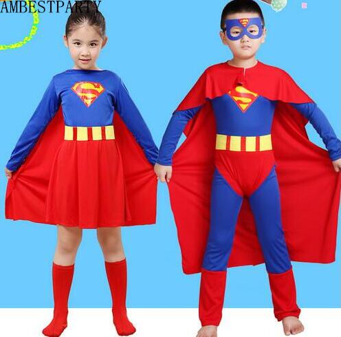 Hot 2017 Halloween Party costumes kid superman Play clothes Boy girl superman costume Cosplay Superhero Movie Dress AMBESTPARTY-in Boys Costumes from ...  sc 1 st  AliExpress.com & Hot 2017 Halloween Party costumes kid superman Play clothes Boy girl ...