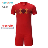 ONEDOYEE College Soccer Jerseys Men Custom Football Jerseys Soccer Uniforms Youth Adult Football Set Suit Maillot