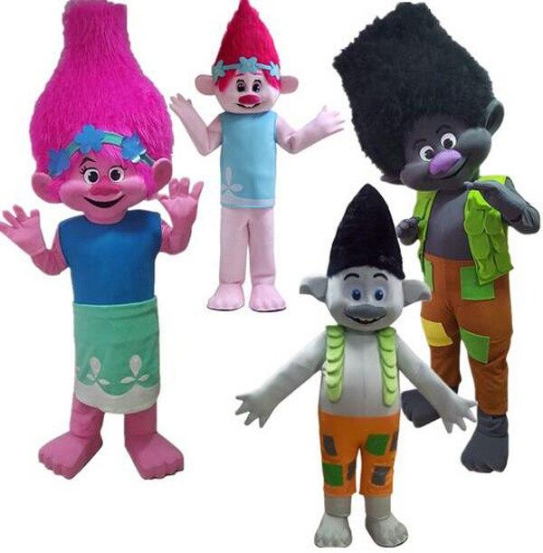 Mascotte costume adulto personaggio dei cartoni animati calda