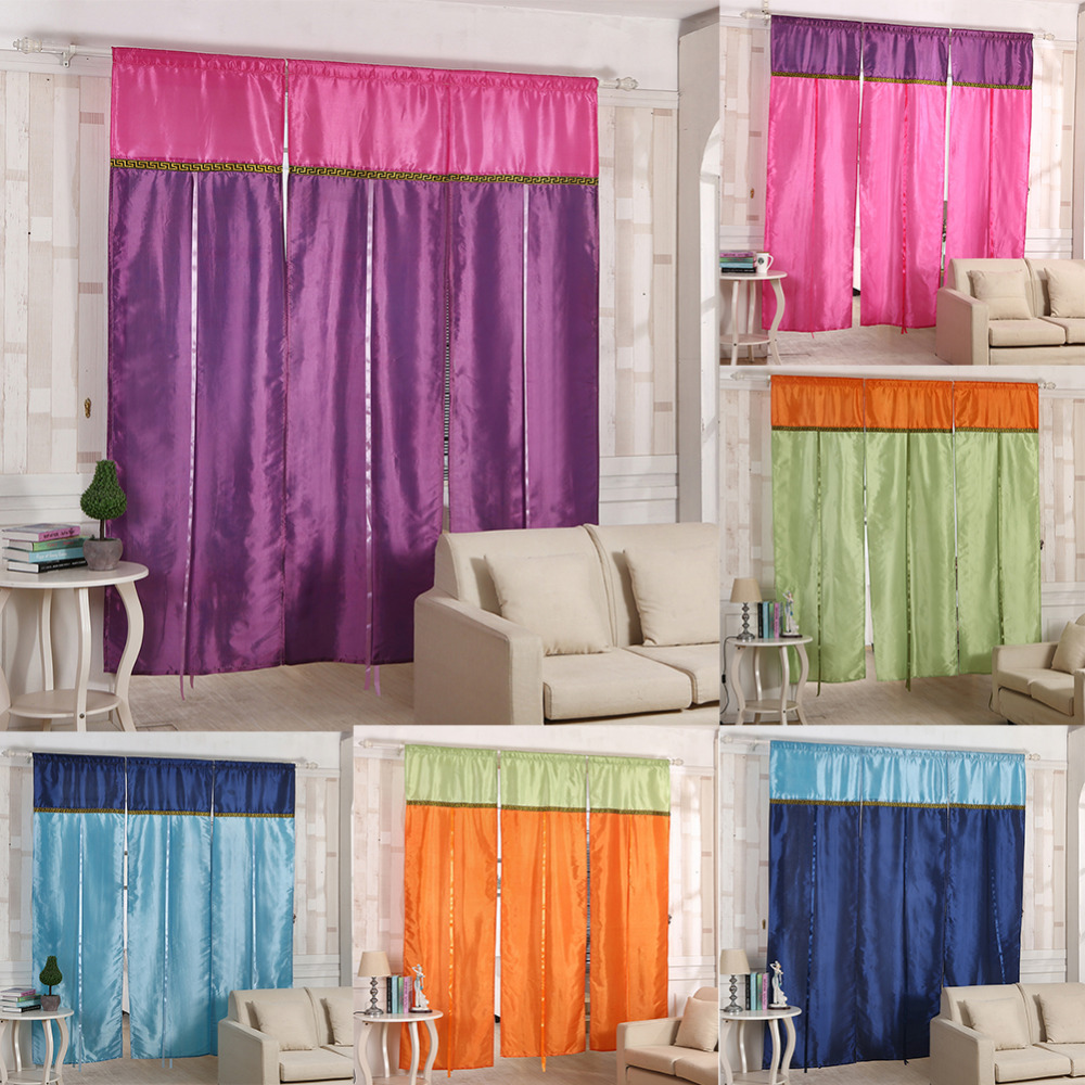 Curtain 70 180cm Bohemian Exotic Stitching Roman Blinds Finished Curtain Lift Curtain Lift