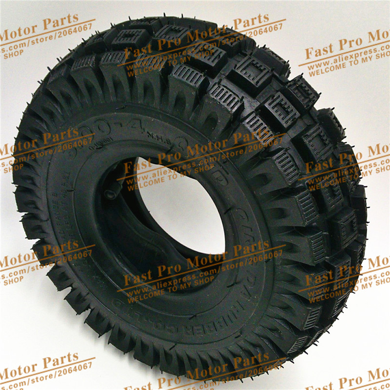 Tyre 3.00 - 4 Mini ATV Quad tyre electric scooter tyre tape inner tube and tires atv tyre