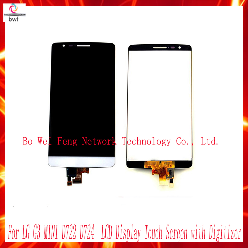 ФОТО High Quality For LG G3 MINI D722 D724 Original LCD Display Touch Screen with Digitizer Assembly Replacements  free shipping