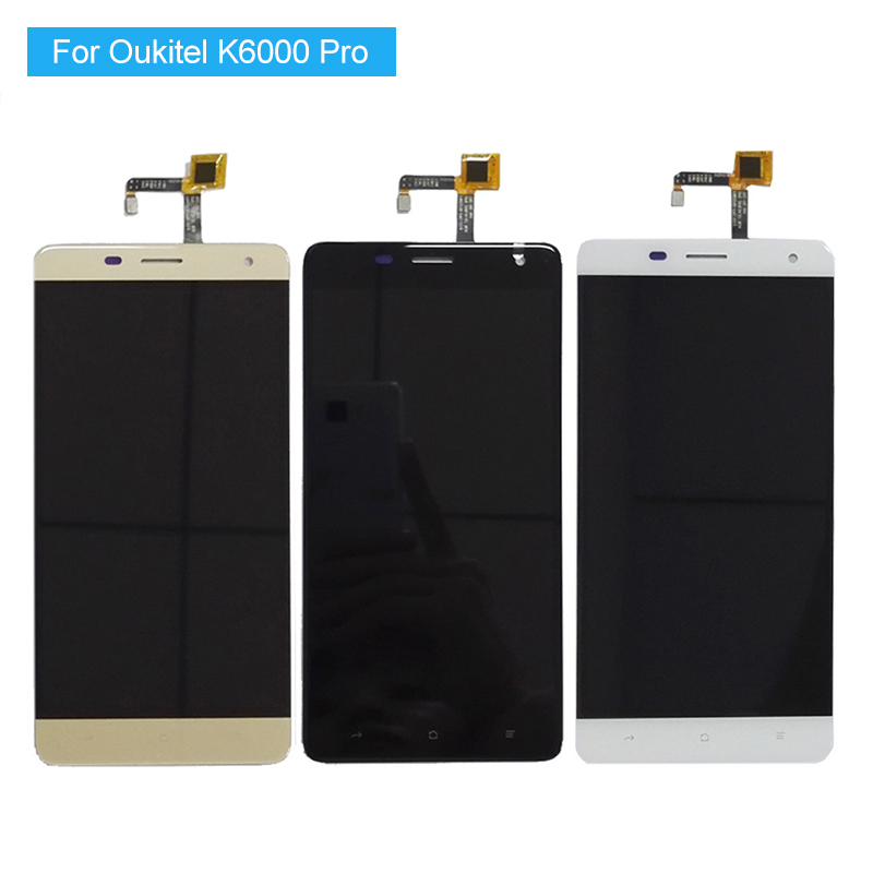 For Oukitel K6000 Pro LCD Display +Touch Screen digitizer Assembly Replacement Original K6000 Pro LCD +tools 100% Tested