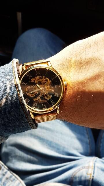 HTB1qe2.sH1YBuNjSszhq6AUsFXac Forsining Transparent Case 2017 Fashion 3D Logo Engraving Golden Stainless Steel Men Mechanical Watch Top Brand Luxury Skeleton