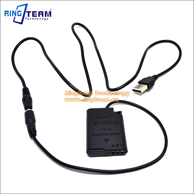 5V 2A Power Bank USB Cable + EN-EL23 Dummy Battery EH-67A EP67A EP-67A DC Coupler for Nikon COOLPIX Camera P600 P610 P900 S810C
