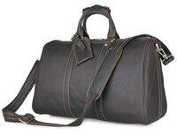 Ручной работы пояса из натуральной кожи уникальный сумка для путешествий дорожные сумки 7077Q