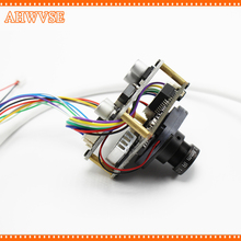 AHWVSE 2.0 Megapixels 1080P Full HD 2.0MP 3.6mm Lens Mini IP Camera POE Module with LAN Cable