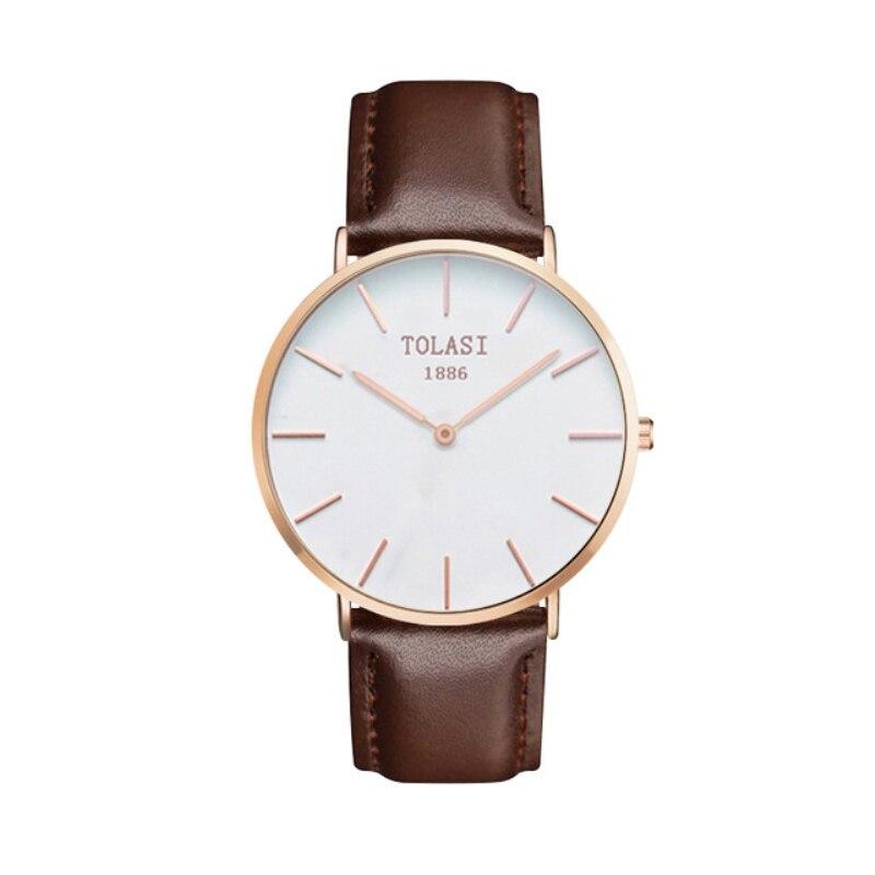 Très TOLASI Femme Mode Montre Marque De Mode Horloge Véritable Montre  OX71