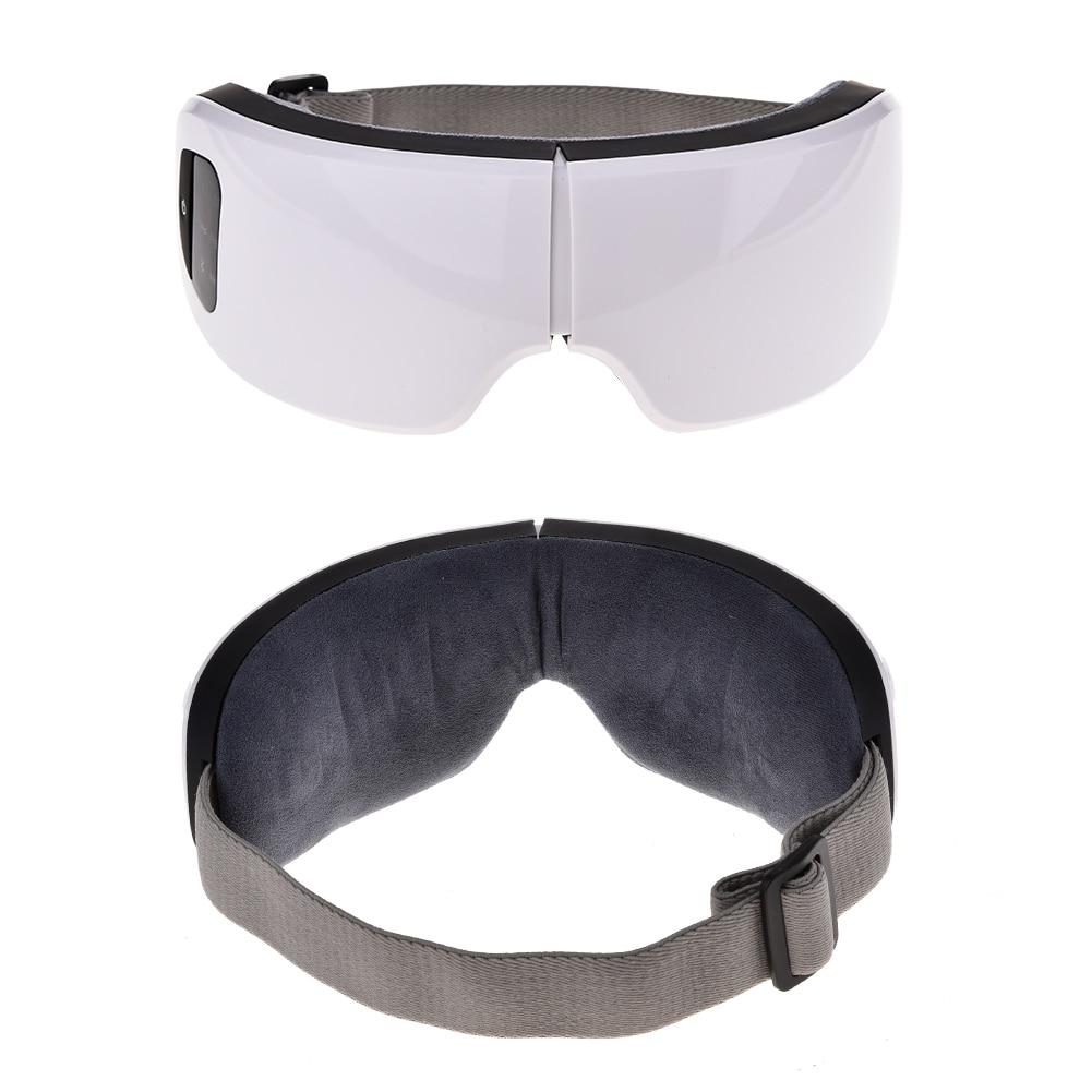 Masseur oculaire anti poches et Bluetooth 2 vues