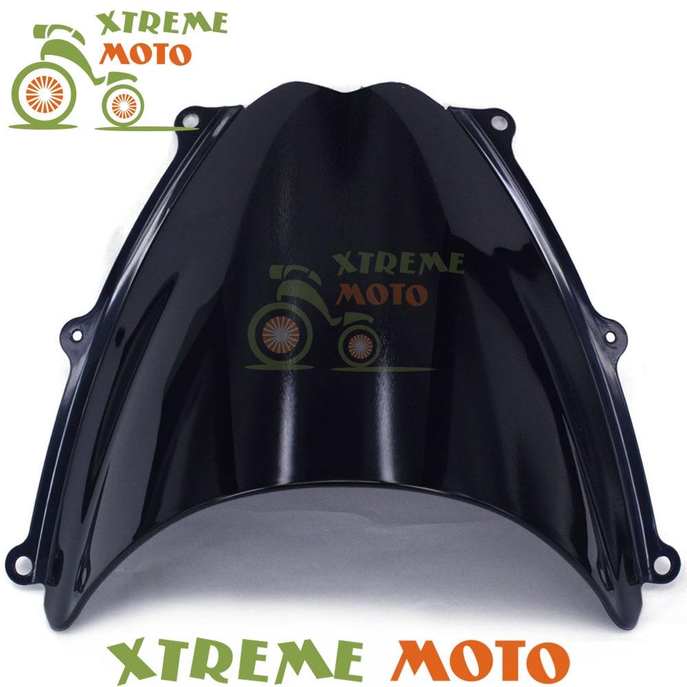 Black Motorcycle Windscreen Windshield For GSXR1000 GSXR 1000 K7 2007 2008 Motocross Motorbike Dirt Bike black windscreen windshield for ktm 125 200 390 duke motorcycle motorbike dirt bike free shipping