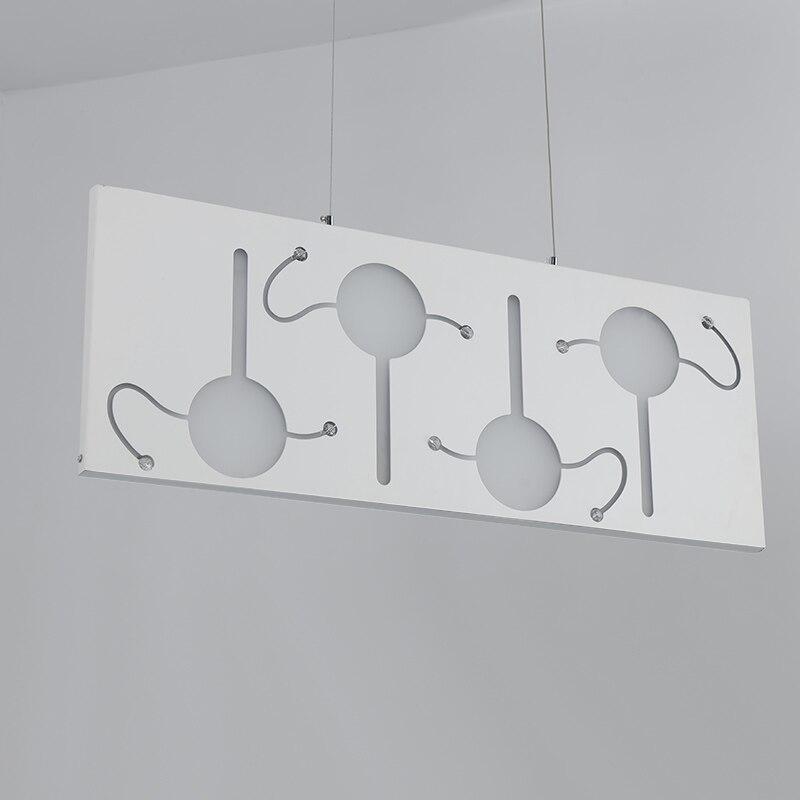 modern LED three head pendant light simple bar lamp Home Living Dining Room Restaurant living room hanging light fixtures