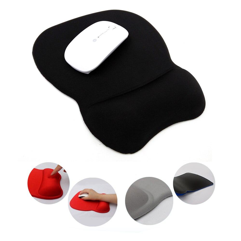Мышь Pad с запястий, для работы и игр, сделано премиум-качества Memory Foam эргономичный Дизайн Мыши компьютерные Коврики