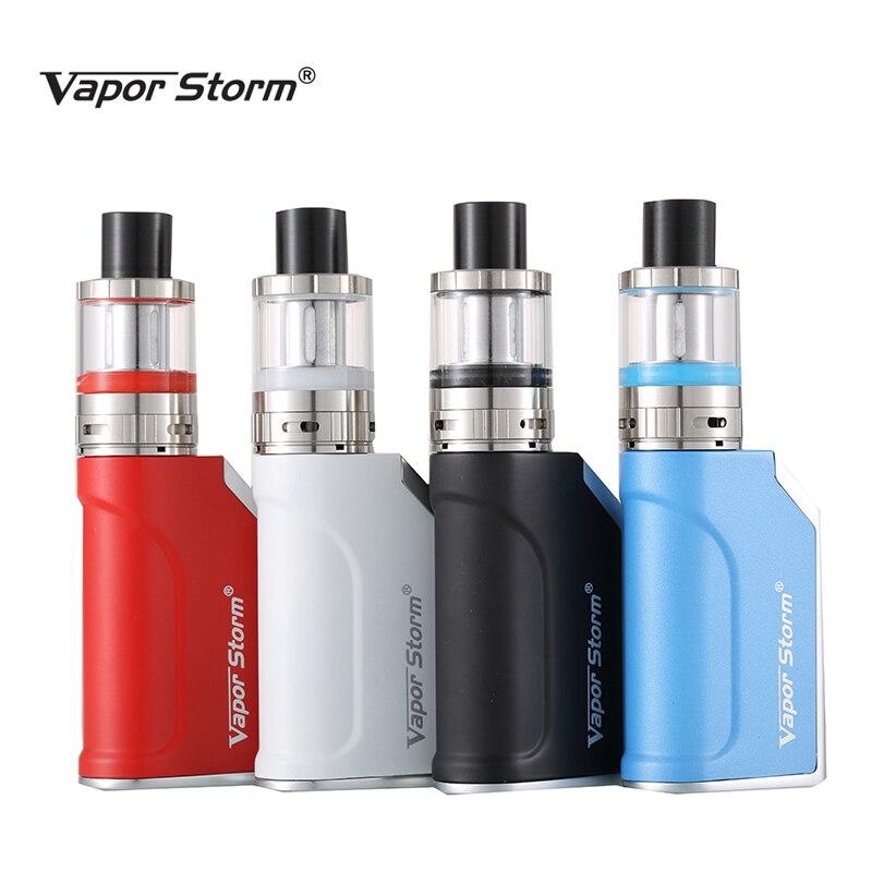 Original Vapor Storm Mini 50W Box Mod Sub Ohm Temperature Control Electronic Cigarette Hookah shisha pen