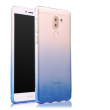 """Фотография Huawei Honor 6x case Transparent soft silicone shell 5.5"""" ultra thin Color gradient cover honor6X"""