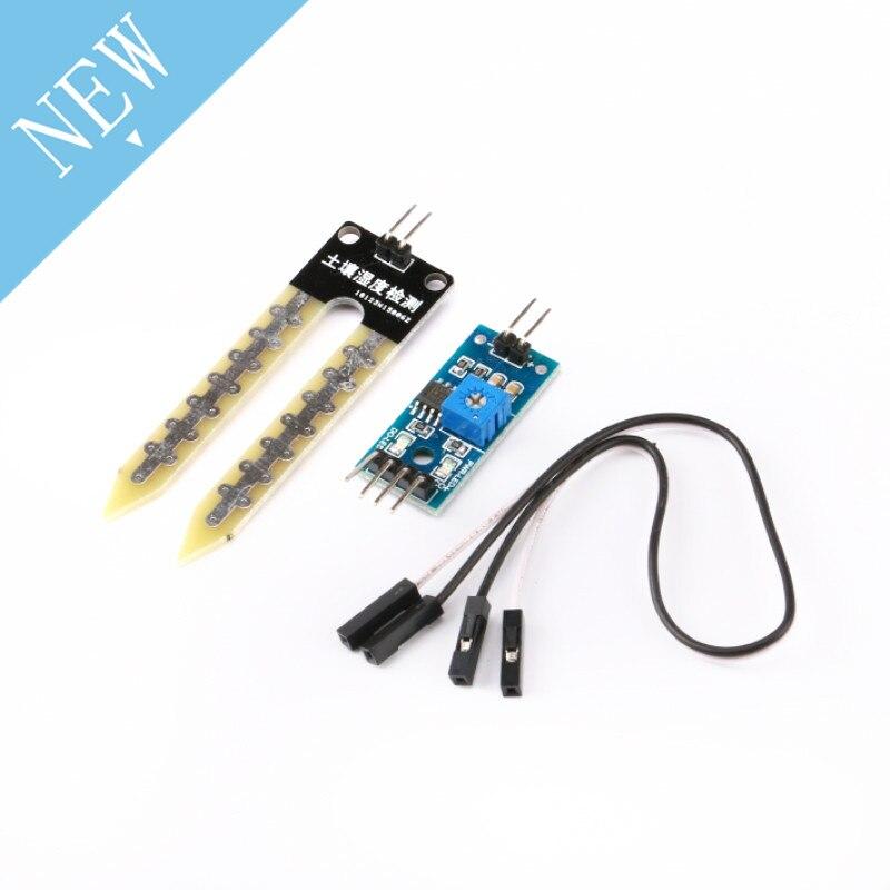 10 Stücke Boden Feuchtigkeit Sensor Feuchtigkeit Sensor Hygrometer Erkennung Modul Lm393 Chip Diy Elektronische Für Autos Für Arduino