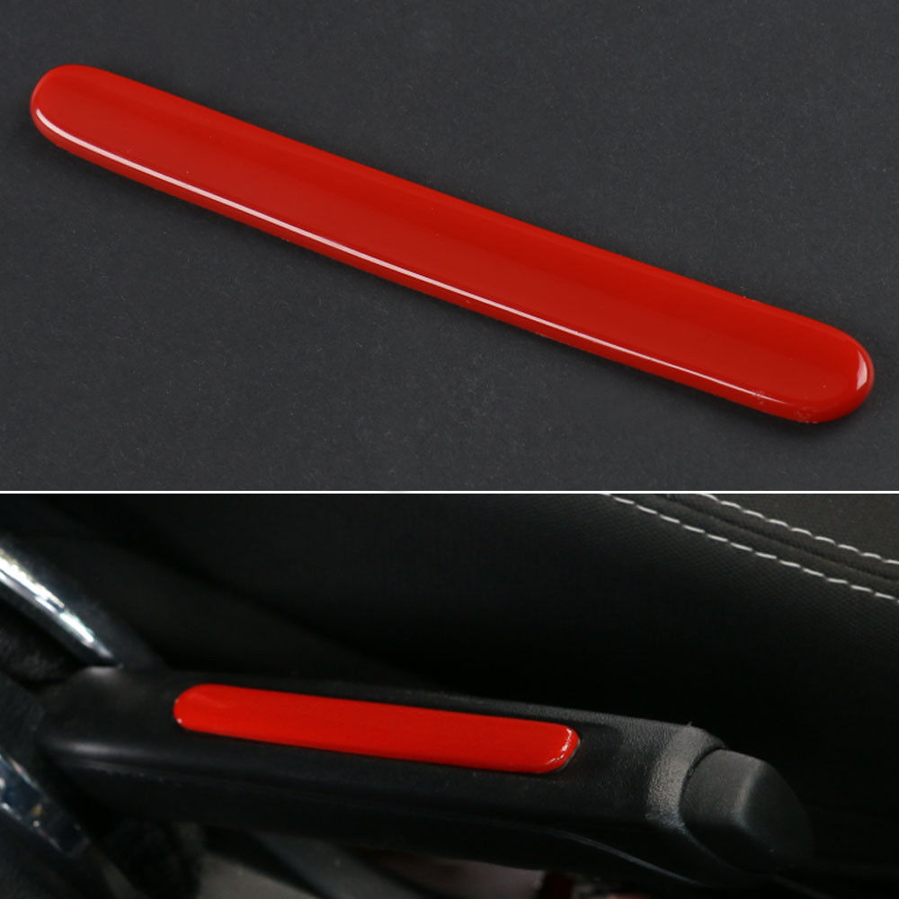 Interior Handbrake Strip Hand Brake Cover Trim Strip For Wrangler 2010-2016 Red