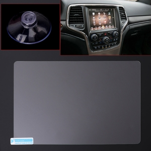 Image 1 - 8.4 inch GPS Navigation Screen Steel Protective Film For Jeep Grand Cherokee SRT Compass 2019 2019 Control of LCD Screen Sticker
