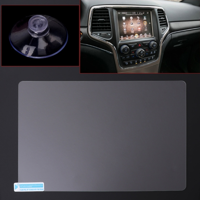 8.4 inch GPS Navigation Screen Steel Protective Film For Jeep Grand Cherokee SRT Compass 2019 2019 Control of LCD Screen Sticker