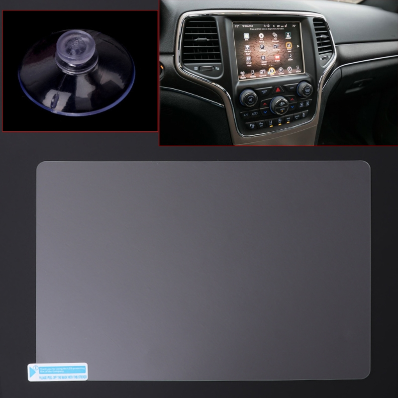 8.4 inch GPS Navigation Screen Steel Protective Film For Jeep <font><b>Grand</b></font> <font><b>Cherokee</b></font> SRT Compass <font><b>2019</b></font> <font><b>2019</b></font> Control of LCD Screen Sticker image