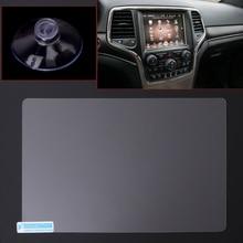 Película protectora de acero para pantalla de navegación GPS de 8,4 pulgadas para Jeep Grand Cherokee SRT Compass 2019 2019, pegatina de Control de pantalla LCD