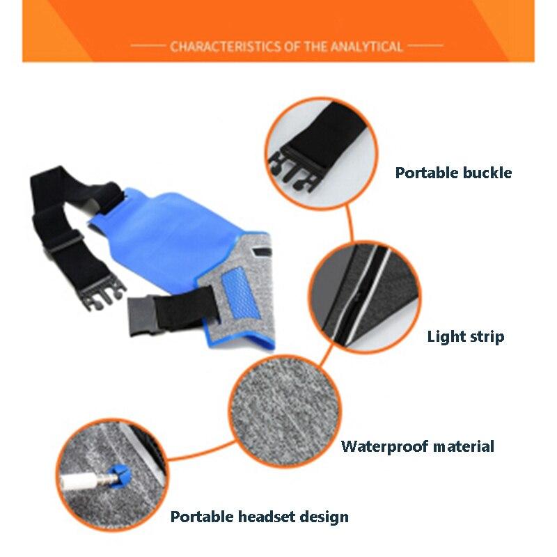 Professional Running Waist Pouch Belt Sport Belt Mobile Phone Men Women With Hidden Pouch Gym Bags Running Belt Waist Pack (5)