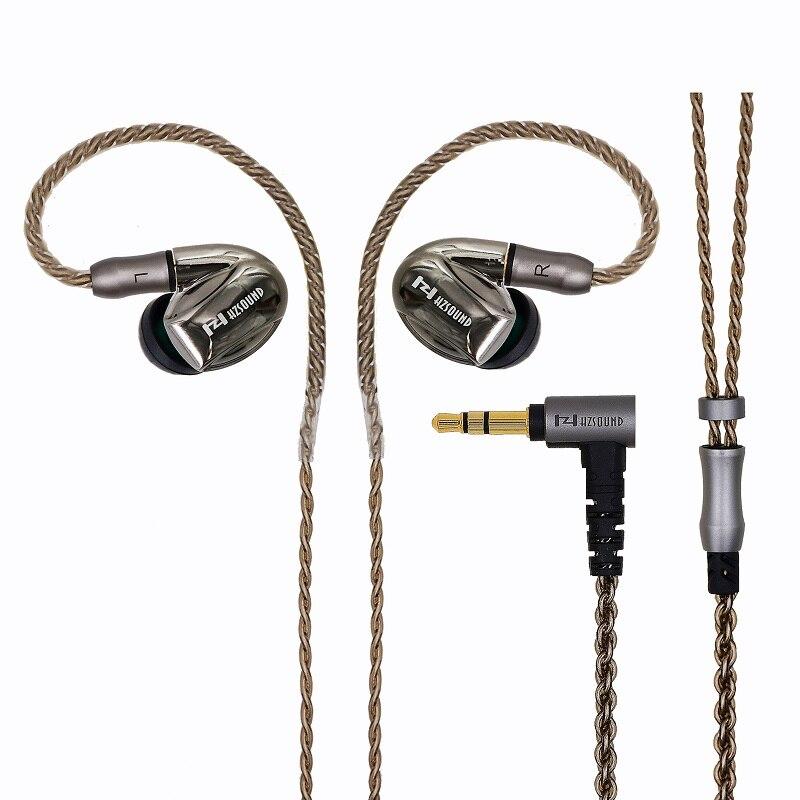 HZSOUND HD21 1BA+1DD ar Earphone Customized Earphone