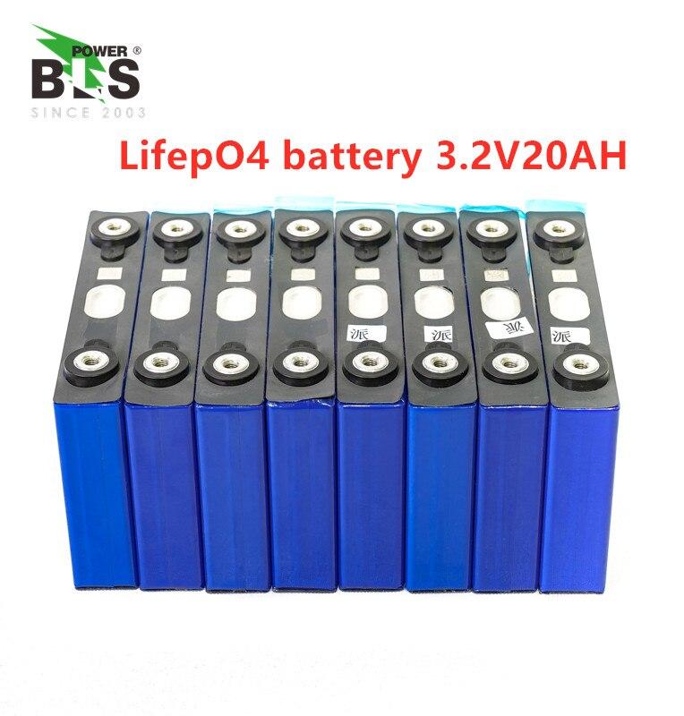 4 pièces lifepo4 3.2v 20ah 200A haute décharge courant 20ah 3.2v lifepo4 batterie cellule pour electrice vélo moteur batterie pack bricolage