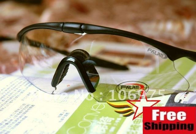 CYCLING SPORT SHOOTING AIRSOFT SNIPER  SAFETY GLASSES PROTECTIVE GOGGLES EYEWEAR
