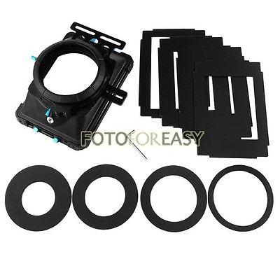 FOTGA DP3000 PRO Matte Box 4:3 16:9 Board 4X4Filter Trays for 15mm Rod DSLR Rig fotga dp3000 pro swing away matte box 4 3 16 9 ratio masks for 15mm rod dslr rig