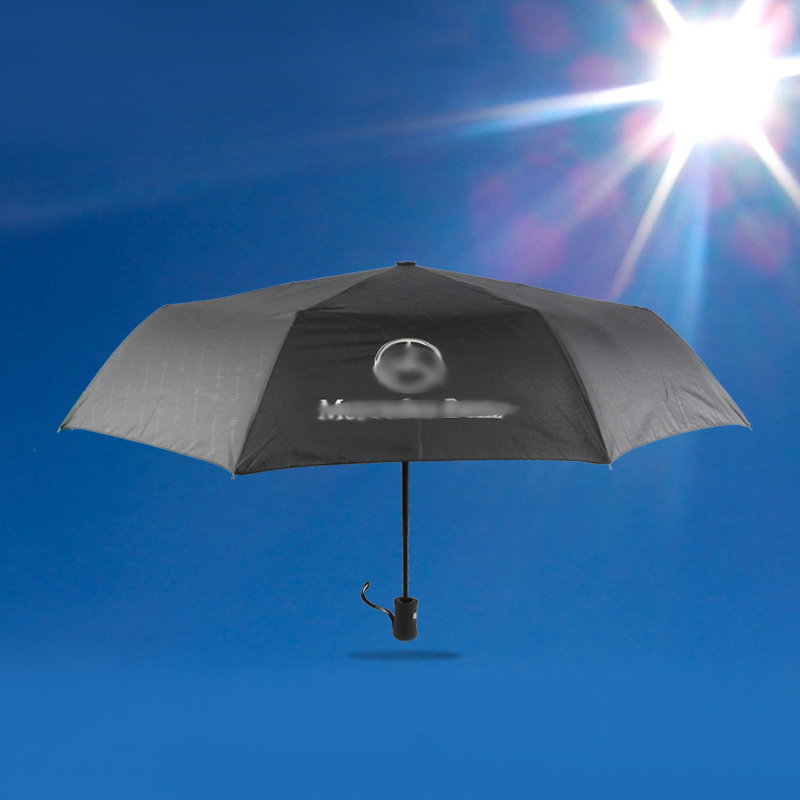 Automatic Folding Umbrella For Mercedes Benz Sunshade UV Protection Bumbershoot Windproof Big Umbrella Portable Parasol