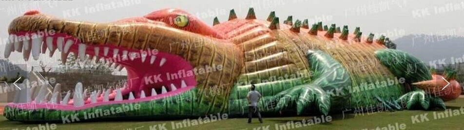 Giant Size Crocodile Shape Inflatable Tent