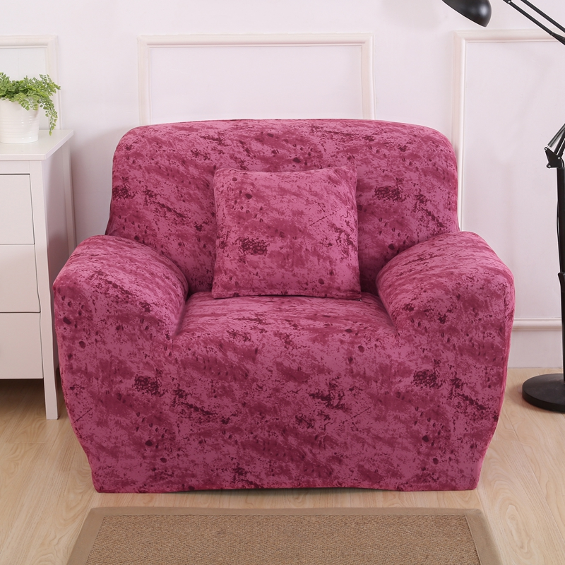 Fashion Home Textile Elastic Flexible 1/2/3/4 Seats Slipcover Living ...