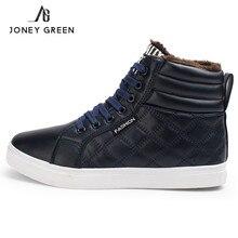 New Fashion Winter font b Shoes b font Warm Men Snow font b Shoes b font