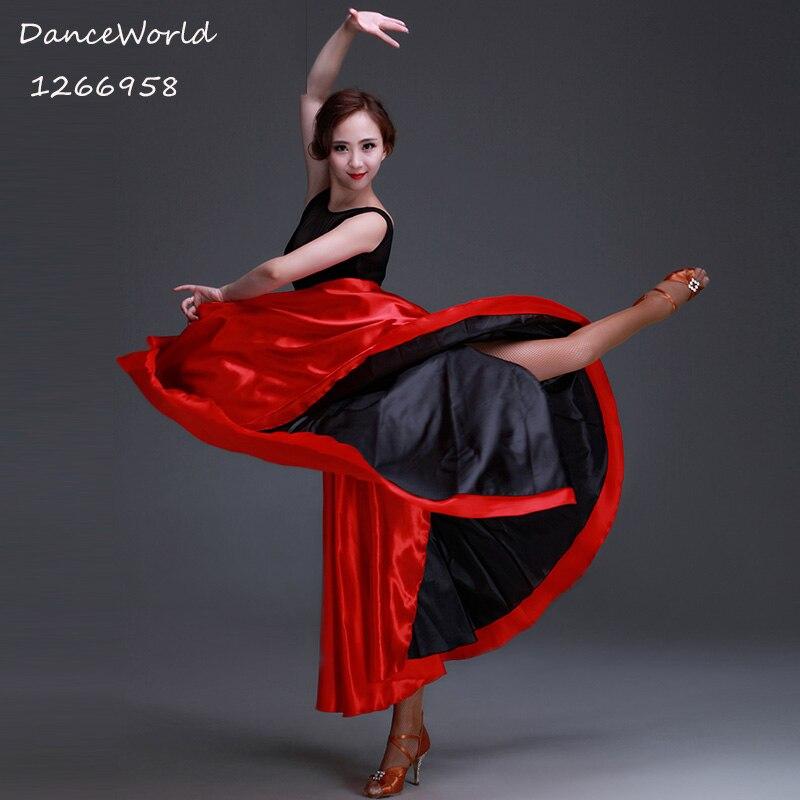 2017 flamenco kjolar Latin tjur dans kappa kjolar flamenco klänning för kvinna