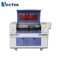Jinan AccTek AKJ6090 cnc cutter nometal laser cutting machine