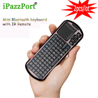 Free Shipping 2016 New IPazzport 810 18bv Mini Bluetooth Keyboard Air Mouse 1080P Large Screen Compatibility