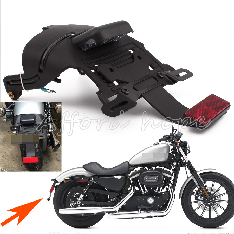 For Harley Sportster Xl 883 1200 48 04 14 Black 1pc