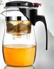 HEIßER Verkauf Neue Ankunft 900 ml Puer Tee Kaffeekanne Hitzebeständigem Glas Teekanne Bequem zu hause & KitchenTea set