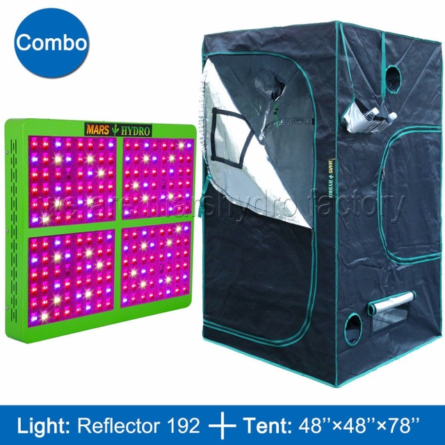 Mars Reflector 960W LED Grow Light full spectrum Veg Flower Hydro+120x120x200cm Indoor Grow Tent  sc 1 st  AliExpress.com & Mars Reflector 960W LED Grow Light full spectrum Veg Flower Hydro+ ...