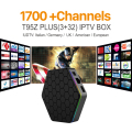 Núcleo octa Android Árabe IPTV BOX T95ZPLUS Frete 1700 Europa Árabe Canais de IPTV S912 3 GB/32 GB TV Box WIFI H265 KODI Media Player