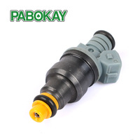 6pcs Free Shipping CNG 1600cc 160lbs High Performance Fuel Injector 0280150842 0280150846 For Mazda RX7 Racing